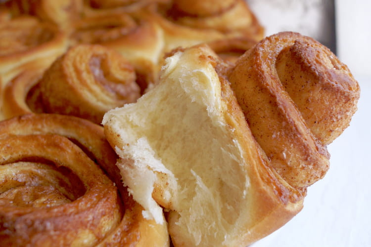Donuts cinnamon rolls au four