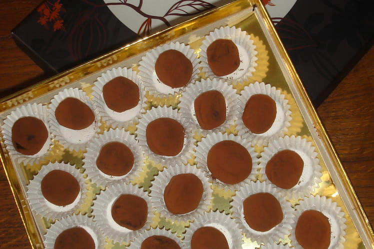 Truffes chocolat à ma façon