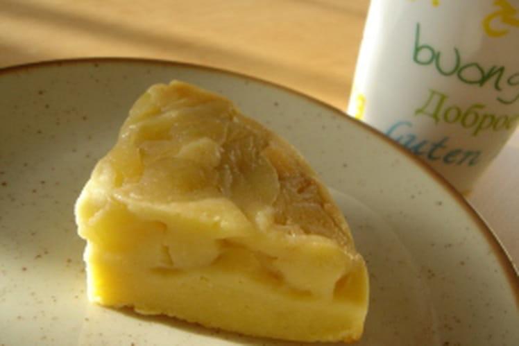 Cake aux pommes version mini