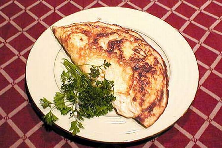 Omelette aux noix et au fromage
