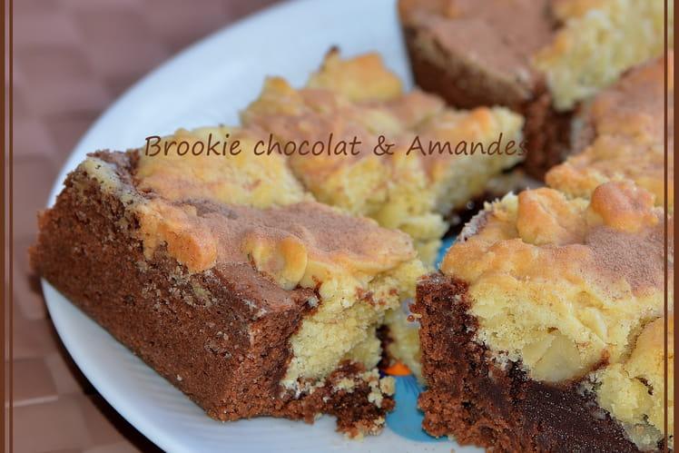 Brookie chocolat & amandes