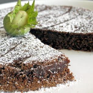 gâteaux moelleux chocolat-noisette