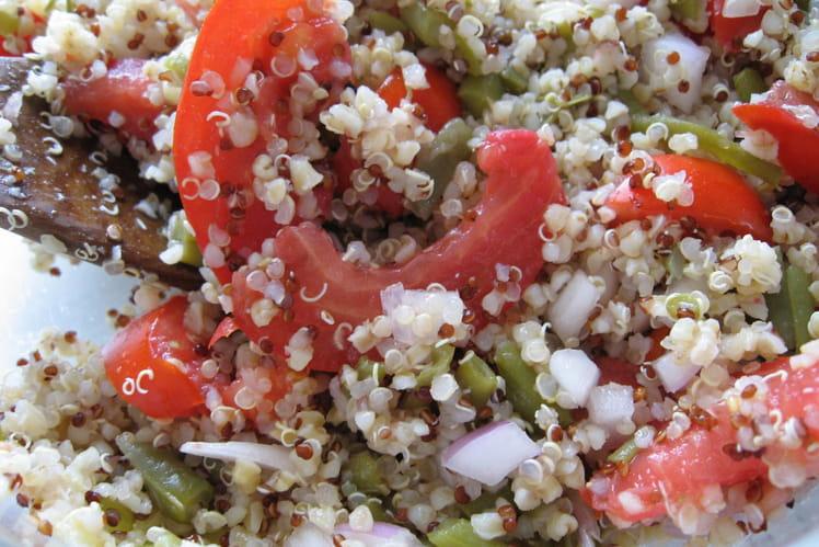 Salade au quinoa gourmand