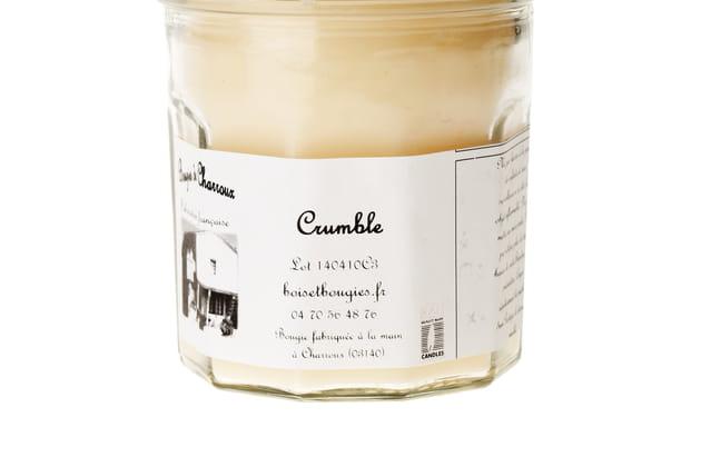 Bougie Crumble Les Bougies de Charroux
