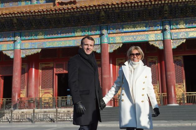 En noir et blanc à la Cité interdite, à Pékin
