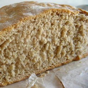 pain à la farine de petit épeautre sans machine