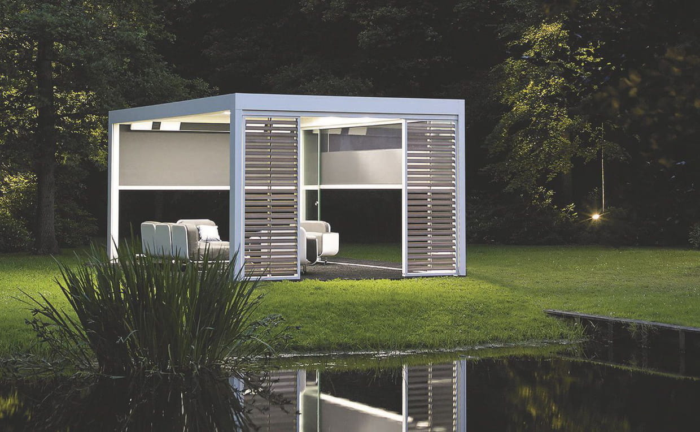 abri de jardin pergola bioclimatique camargue de renson. Black Bedroom Furniture Sets. Home Design Ideas