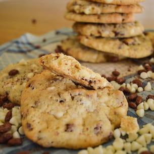 cookies chocolat blanc et riz soufflé
