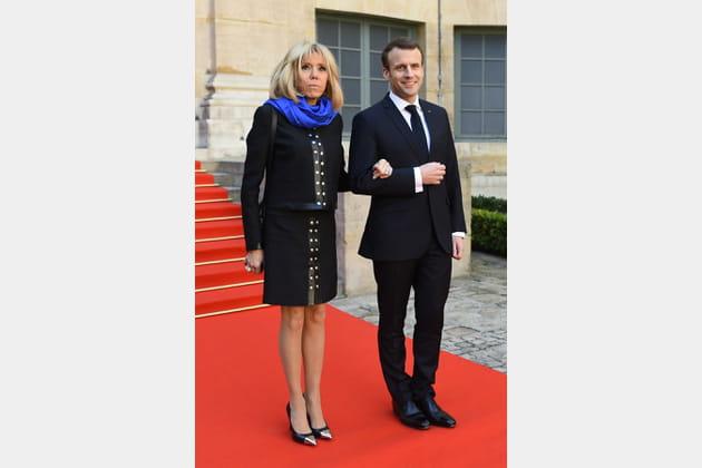 Brigitte Macron le 21mars 2018