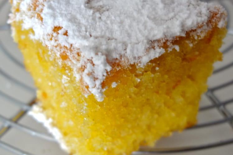 Carrés fondants au citron et Limoncello