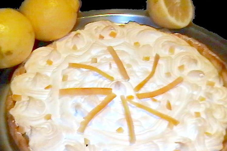 Recette de tarte au citron meringu e classique la recette facile - Tarte au citron meringuee facile ...