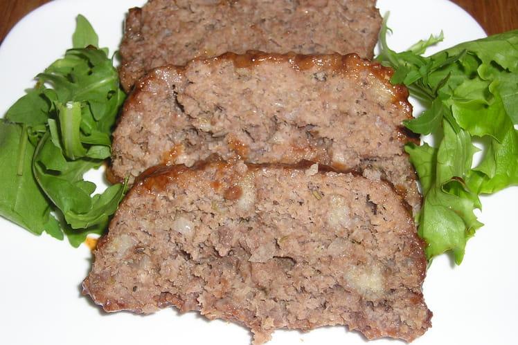 Meatloaf au sucre roux