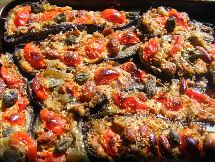 Recette de barquettes d 39 aubergines la recette facile for Plat unique convivial entre amis