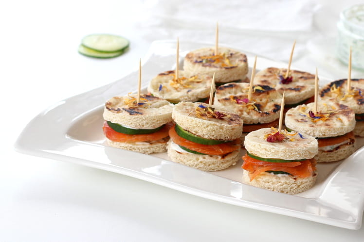Mini sandwich Suédois