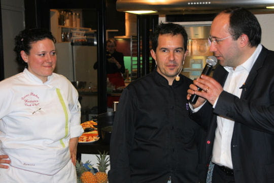 Gilles Choukroun et Hermance Carro