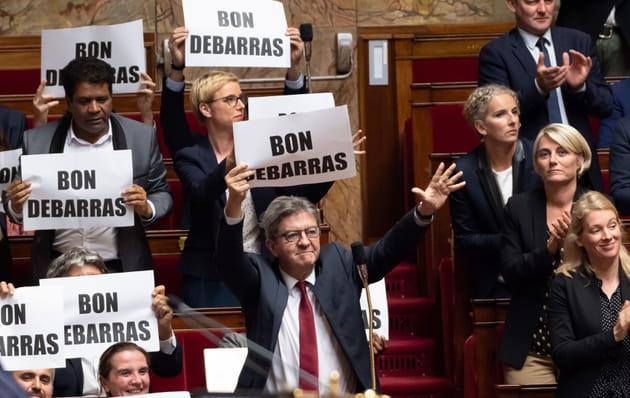 Jean-Luc Mélenchon, RA-VI de se débarrasser de Manuel Valls à l'Assemblée nationale