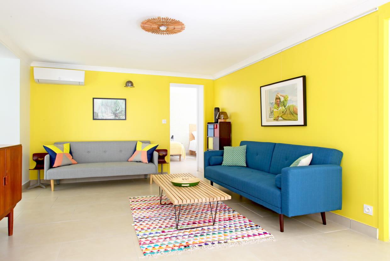 Deco Chambre Jaune Et Gris le jaune en déco : toutes les idées pour bien l'associer