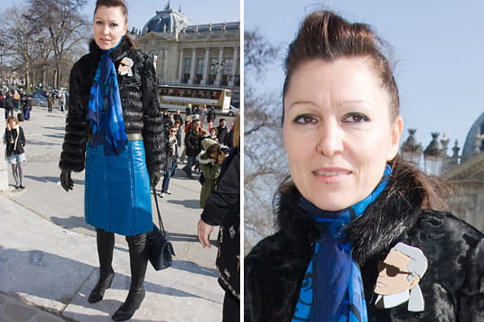 Fashion week : les street looks des défilés parisiens PAP automne-hiver 2011-2012 68