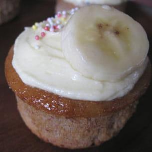 cupcakes banane-châtaigne