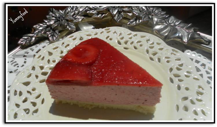 Recette de bavarois aux fraises la recette facile for Miroir aux fraises