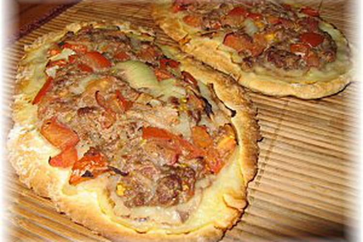 Pide à la viande (pizza turque)
