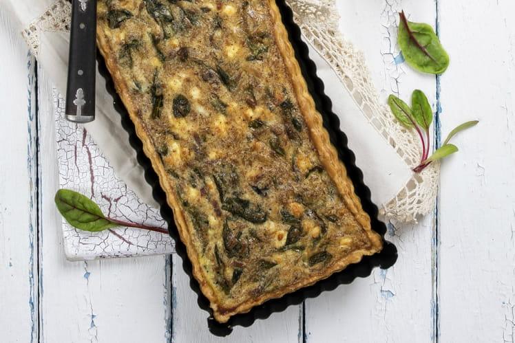 Cake au thon aux épinards