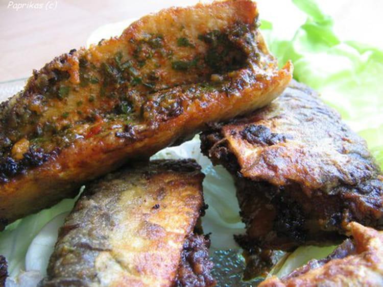 Recette de sardines farcies la chermoula la recette facile - Cuisiner des filets de sardines fraiches ...