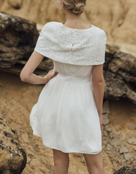 Robe de mariée Colombe Edmée, Atelier Anonyme