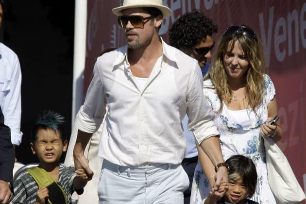 Brad Pitt, papa engagé