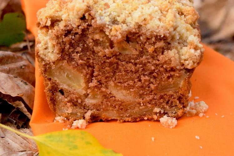 Crumb cake pomme cannelle sans gluten