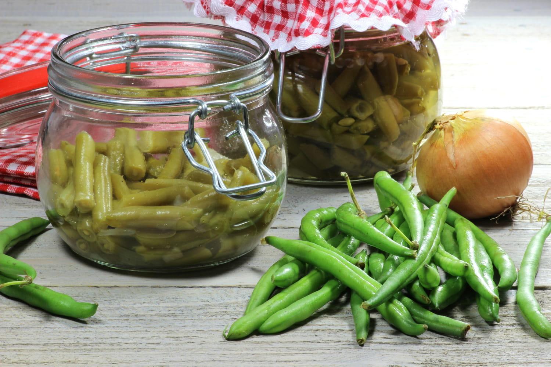 Comment stériliser des bocaux de haricots verts ?