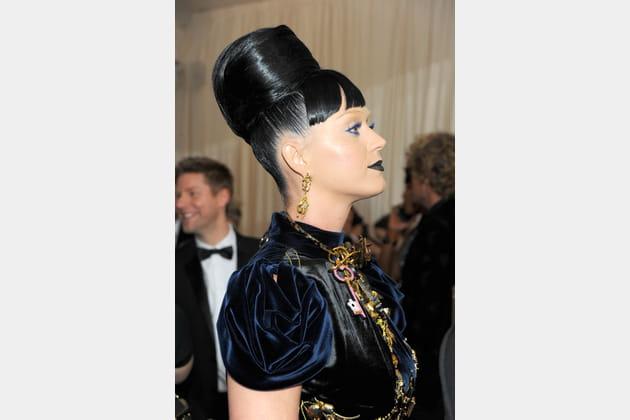 Le chignon spectaculaire de Katy Perry