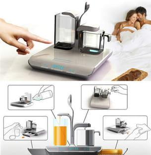 réveil, expresso, jus d'orange et toaster : le rêve