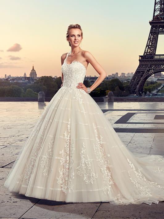 60% pas cher différents types de véritable Robe de mariée Kennedy, Pronuptia 2019