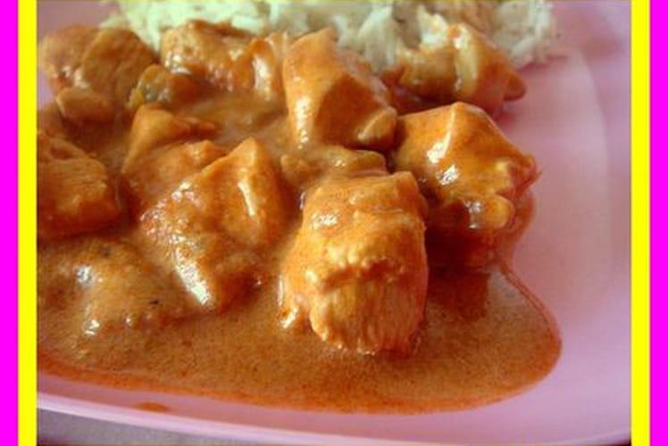 Curry de viande au lait de coco
