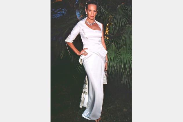 Estelle Hallyday le 5août 2000