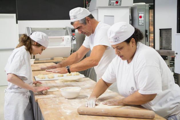 Pierre Chouteau, professeur en boulangerie