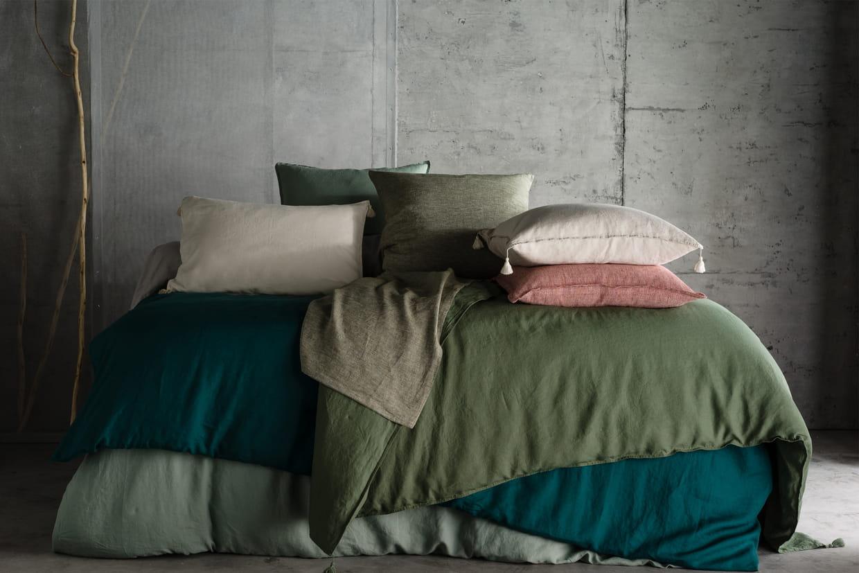 linge de lit carly d 39 am pm. Black Bedroom Furniture Sets. Home Design Ideas