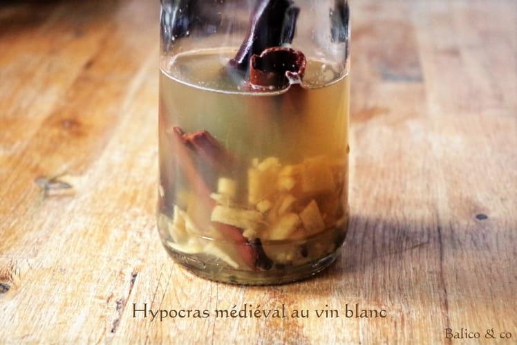 Vin sucré au miel et épices - Hypocras médiéval au vin blanc