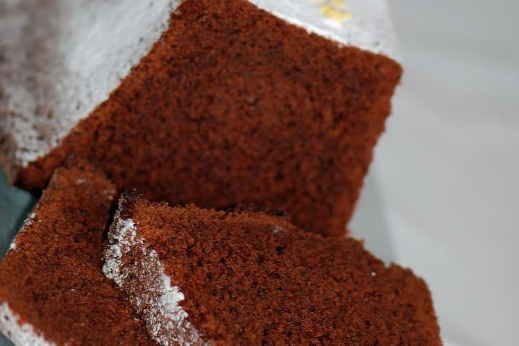 Cake au chocolat noir et beurre salé