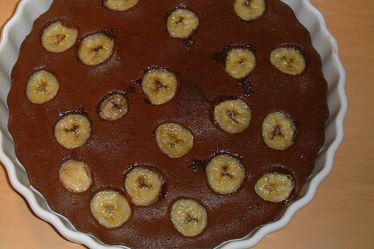 Tarte chocolat-banane express