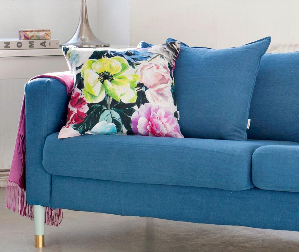 Bemz offre un coussin en lin designers guild - Housse de canape en lin ...