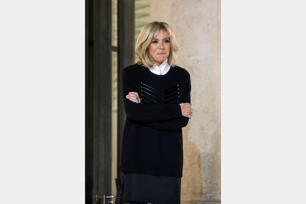 Brigitte Macron le 20novembre 2017