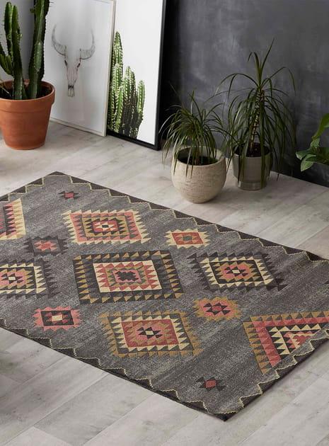 Tapis kilim moderne chic