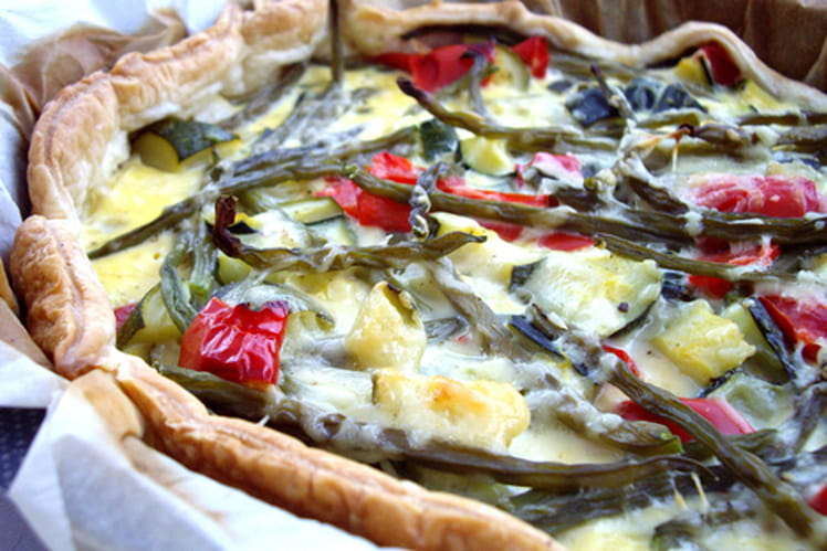 Quiche potagère
