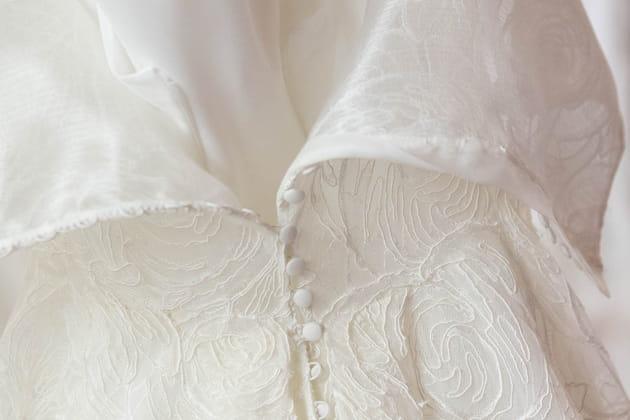 La dentelle de la robe Batel