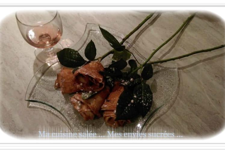 Crêpes roses