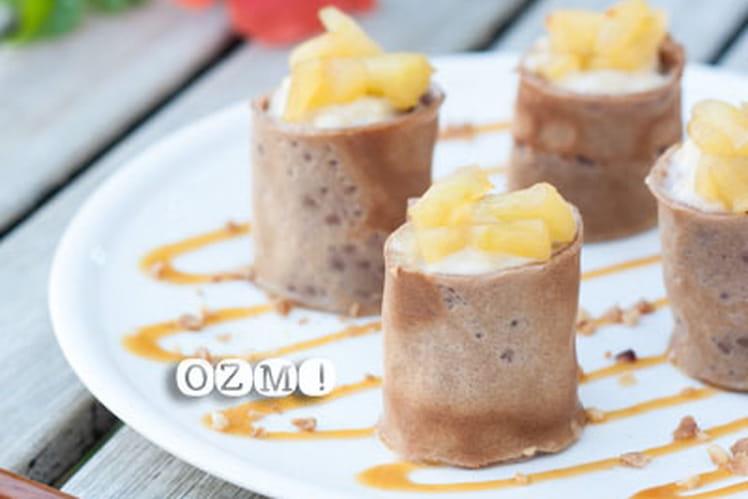 Le Japon sinvite en Bretagne avec ces Maki au riz au lait, pommes et ...