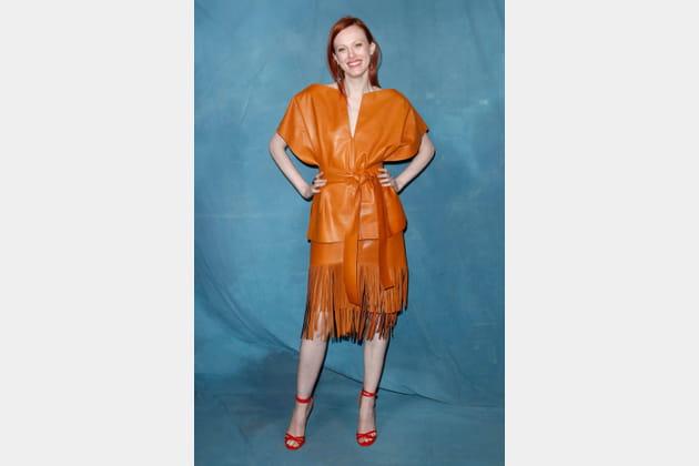 Karen Elson au défilé Givenchy