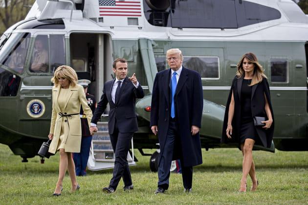 Emmanuel Macron, réincarnation de l'Oncle Sam?